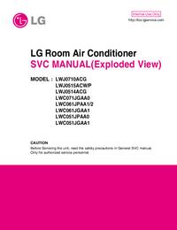 Service Manual LG LWC051JPAA0