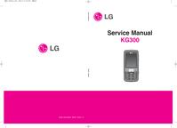 manuel de réparation LG KG300