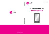 Manual de servicio LG KE990