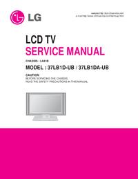 Service Manual LG 37LB1D-UB