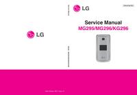 Manual de serviço LG MG295