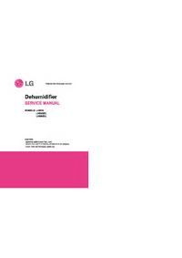 Руководство по техническому обслуживанию LG LHD65EL