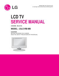 Service Manual LG ML-041G