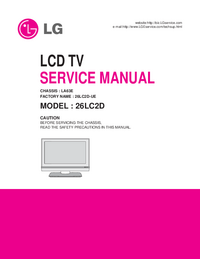 Servicehandboek LG LA63E
