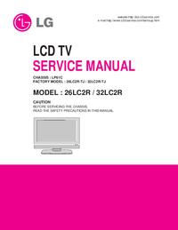 Service Manual LG 26LC2R