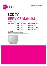 Service Manual LG 32LC43-ZB