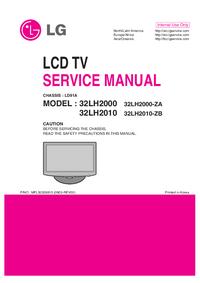 Instrukcja serwisowa LG 32LH2000