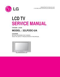 Service Manual LG LA53A