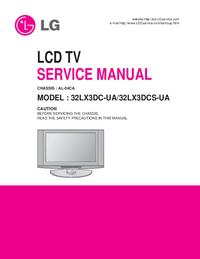 Instrukcja serwisowa LG 32LX3DCS-UA