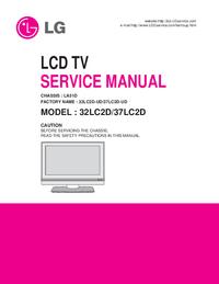 manuel de réparation LG LA51D