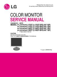 Manual de servicio LG Flatron L1752T (L1752T-BFQ.AX**QP)