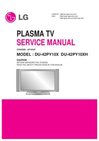 Service Manual LG DU-42PY10X
