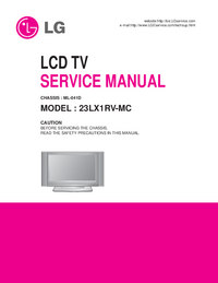 Manual de servicio LG 23LX1RV-MC