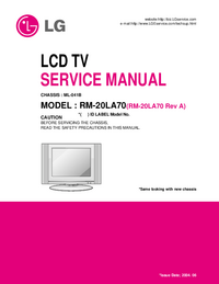 Manual de servicio LG ML-041B