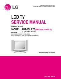Manuale di servizio LG ML-041B