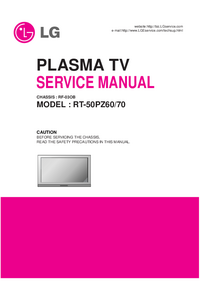 Manual de servicio LG RT-50PZ70