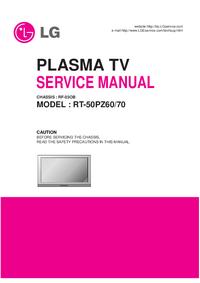 Manual de servicio LG RT-50PZ60