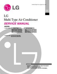 manuel de réparation LG AMNH123APM0(LMAN120HNS)