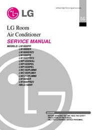 Manual de servicio LG LW1500PR
