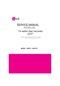 Service Manual LG Pedestal Kit