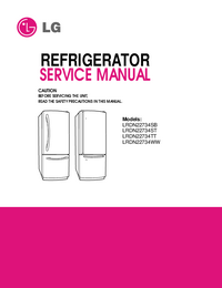 Service Manual LG LRDN22734WW