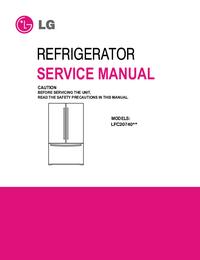 Serviceanleitung LG LFC20740**