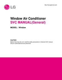 Service Manual LG Window