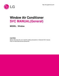 Manuale di servizio LG Window