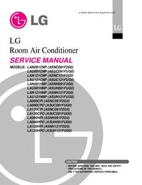 Manual de servicio LG LA120HPO (ASUH121FUG0