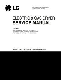 Service Manual LG DLE2516W