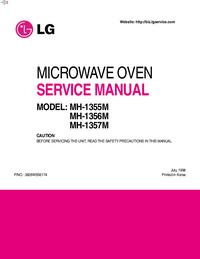 Servicehandboek LG MH-1356M