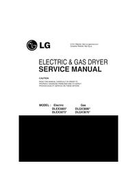 manuel de réparation LG DLEX3875*