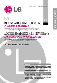 Bedienungsanleitung LG LT1230CR