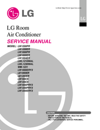 Service Manual LG LW100CS