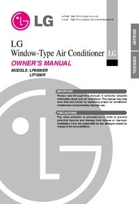 User Manual LG LP7000R
