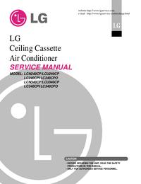 Serviceanleitung LG LC340CPO