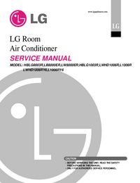 manuel de réparation LG LWHD1006R