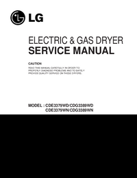 Service Manual LG CDG3389WN
