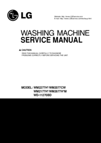 Manual de servicio LG WM2677H*M