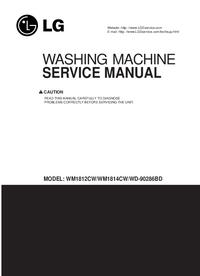 Service Manual LG WM1814CW