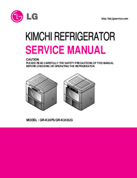Manual de servicio LG GR-K24PS