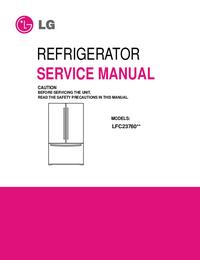 Service Manual LG LFC23760**