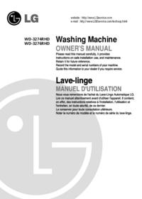 Gebruikershandleiding LG WD-3274RHD