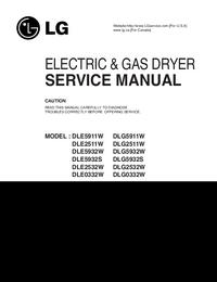 Manual de servicio LG DLE5911W