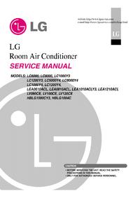 Servicehandboek LG LV080CE