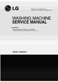 Manual de servicio LG WM2233H*