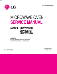 Service Manual LG LMV2053ST