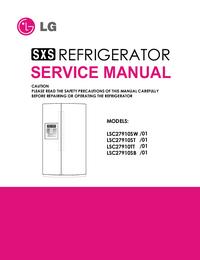 Service Manual LG LSC27910SB /01