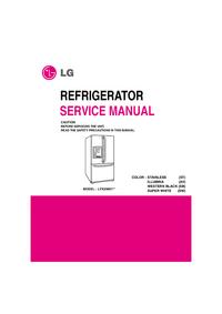 Serviceanleitung LG LFX25961**