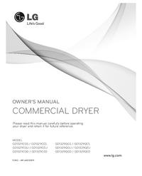 User Manual LG GD1329CED